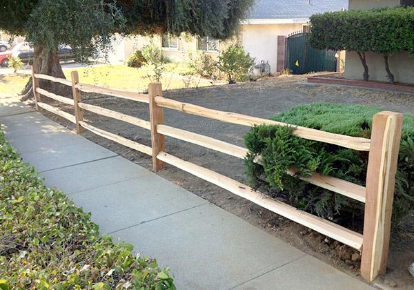 split fence